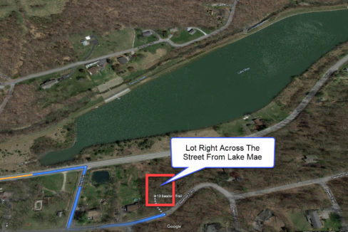 Lot For Sale Across From Lake Mae