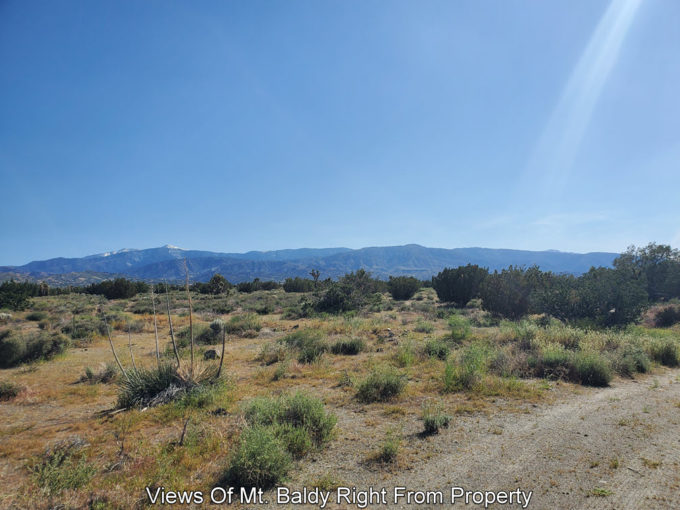 San Bernardino Vacant land With Views of Mountain