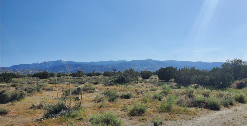 San Bernardino Vacant land With Views of Mountain