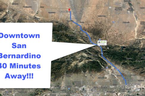 Vacant Lot For Sale In Pinnon Hills 41 min away Downtown San Bernardino