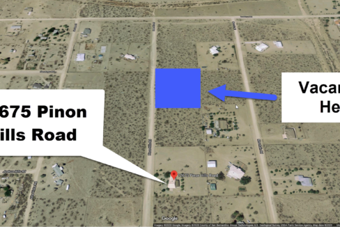 Vacant lot for sale in pinnon hills neigbors
