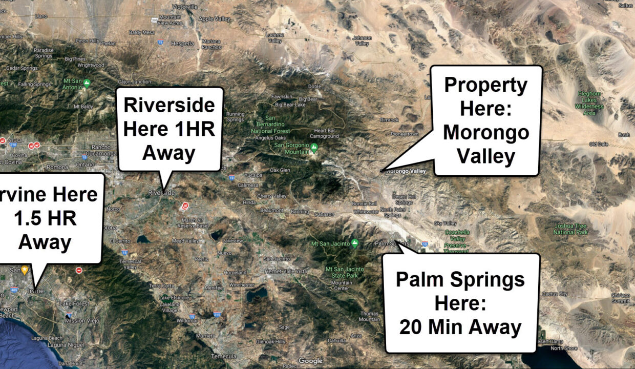 Morongo Valley Cities Close
