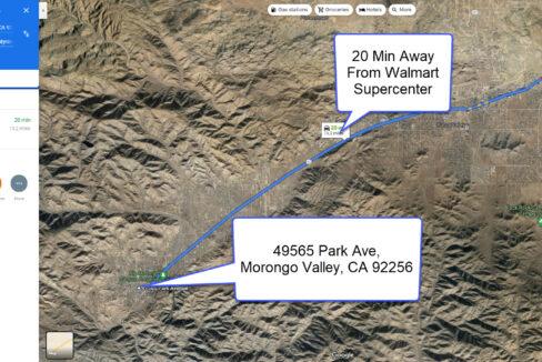 Morongo Valley Vacant Land Close To Walmart