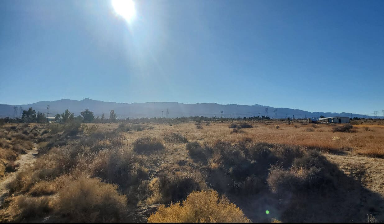 Pinon Hills Vacant Land For Sale Beautiful Mountain Views