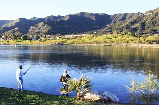 Lake Elsenor Fishing