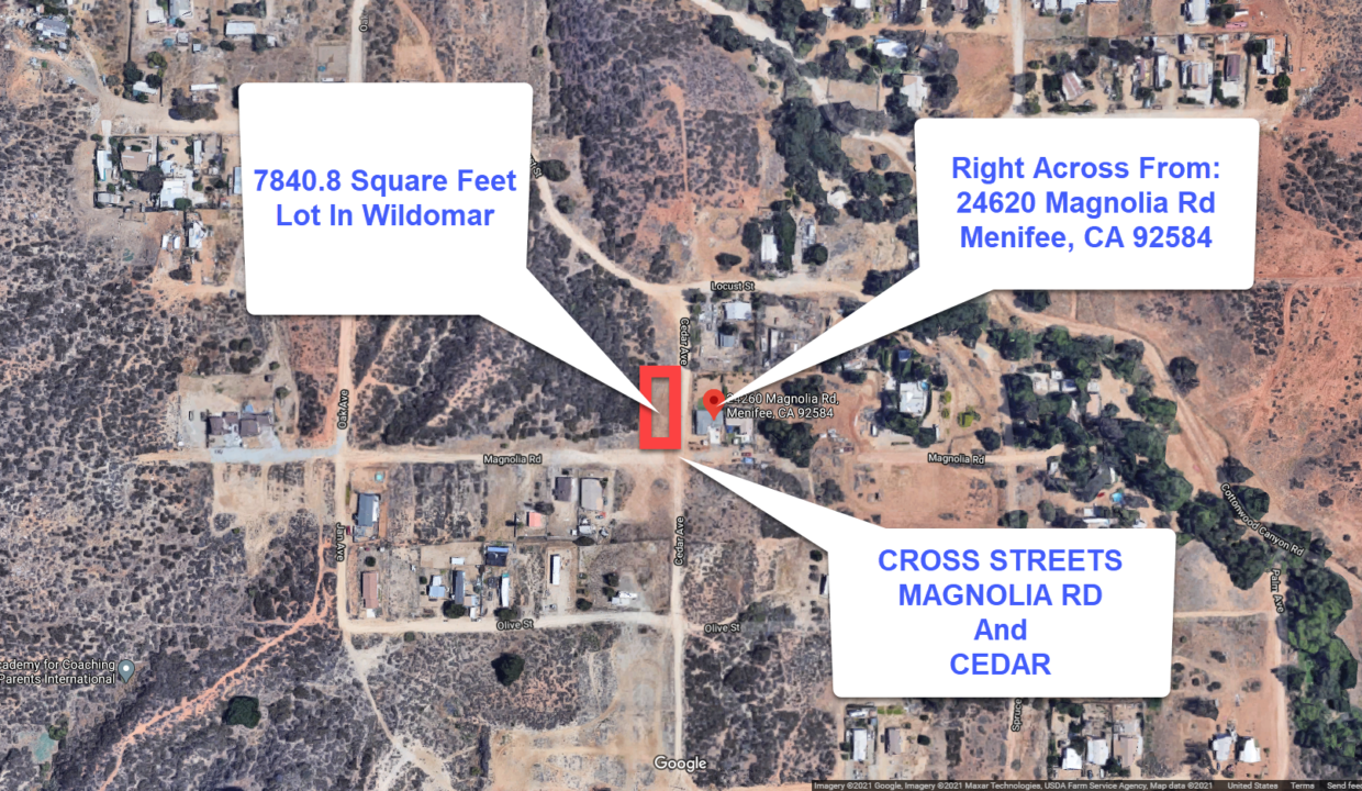 Vacant Lot For Sale In Menifee