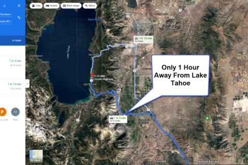 Lake Tahoe One Hour Away