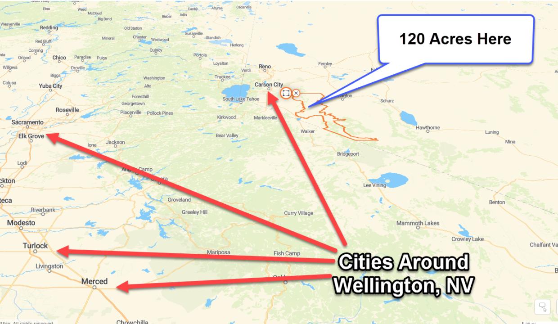 Wellington Cities Around